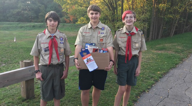Natick Scouts Appear In Scouting For Food PSA